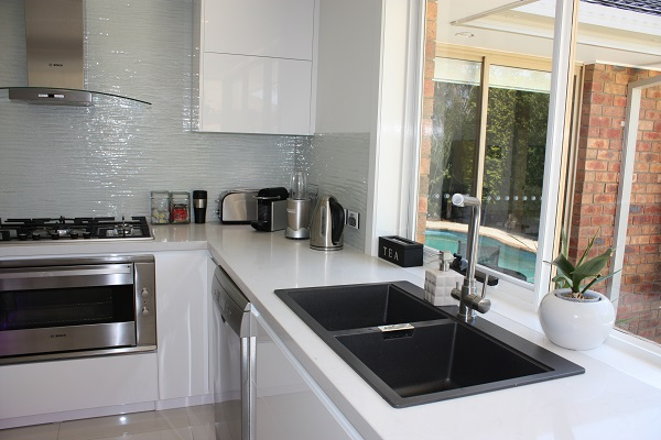 L Shaped Kitchen With Island Bench Brentwood Kitchens
