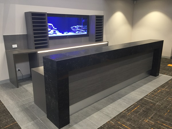 In Addition To Creating Customised Kitchens, Brentwood Kitchens Design,  Manufacture And Install Distinctive Commercial Cabinetry And Furniture For  Reception ...